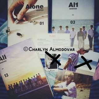 Seventeen Al1 Seungkwan postcard