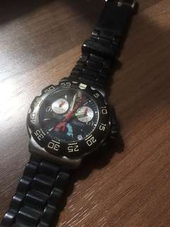 Tag Heuer Formula 1 Rubber Strap