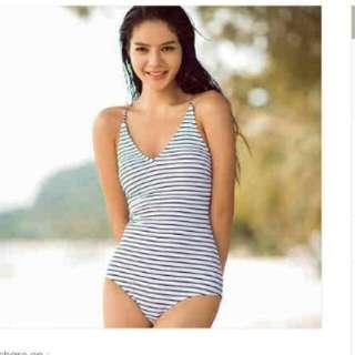 DELANEY Simple Stripes 1PC Swimsuit