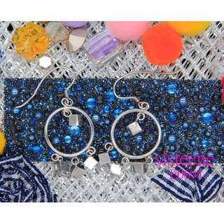 純銀耳環925 Silver EarringsE0694