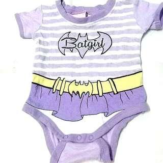 0-3 months Batgirl Romper
