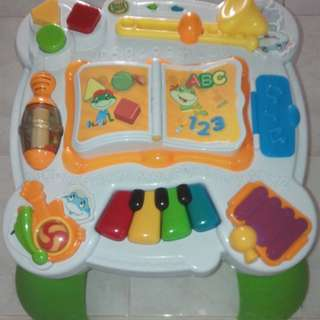 Leapfrog Music & Groove Bilingual Activity Table