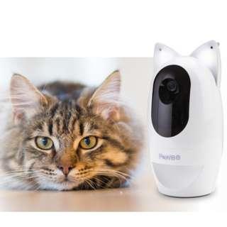 PAWBO+寵物互動攝影機 貓耳智慧燈 智能燈 夜視清晰功能