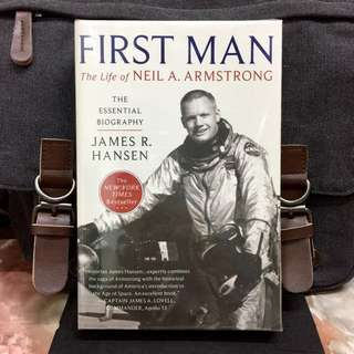 # Highly Recommended《New Book Condition + The Official Essential Biography》James R. Hansen - FIRST MAN : The Life Of Neil A. Armstrong