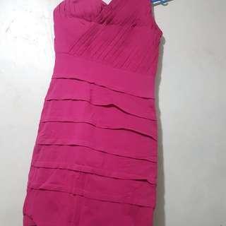 Pink Venus Cut Dress