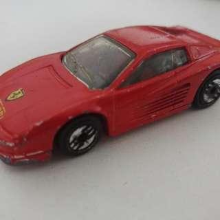 1980 Ferrari Testarossa Hotwheels