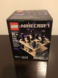 New & Original Lego Minecraft Micro World The End (21107)