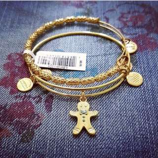 Alex and Ani Gingerbread Man