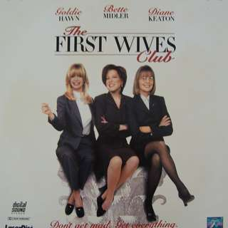 Laser Disc Movie - M26   The First Wives Club