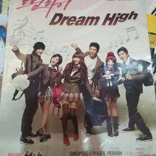 BUKU DREAM HIGH + POSTER + STICKER