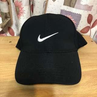 正版Nike黑色棒球帽/鴨舌帽