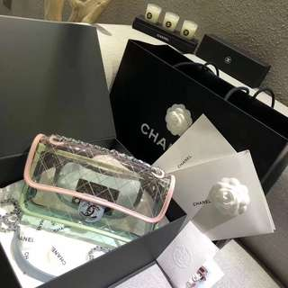 Chanel 透明袋最新