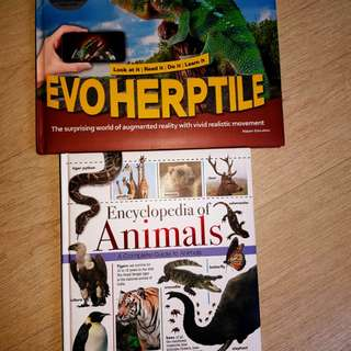 Books for animal and reptile lovers!