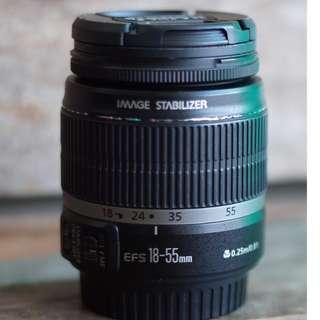 lensa canon 18-55mm is 1 murah