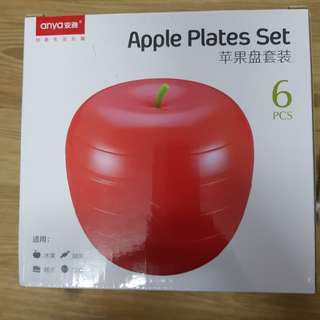 🚚 Apple plate set