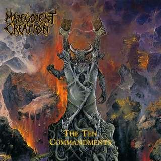 Malevolent Creation – The Ten Commandments CD