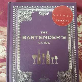 Brand new Cocktail book- the bartenders guide + cocktail tools