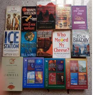 Used Teenage/Adult Books (Cheap, PM me for price, too many books in the picture)