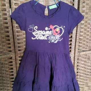 Sesame Street Purple Dress