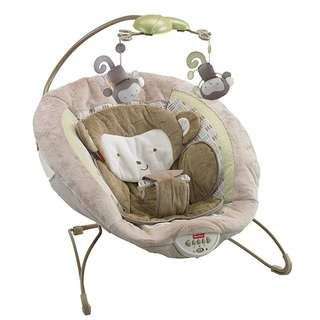 Fisher-Price BGB12 My Little SnugaMonkey Deluxe Bouncer