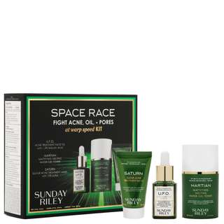 [PREORDER] SUNDAY RILEY Space Race Fight Acne, Oil + Pores At Warp Speed Kit