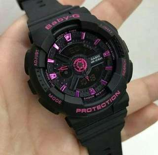 BABYG BLACK PINK WATCH