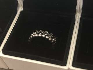 2X Pandora Rings Size 56 Including Box