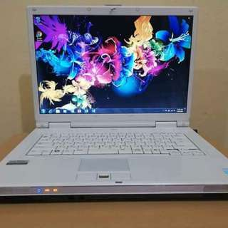 2nd hand Laptop (Fujitsu FMV Bilbo)