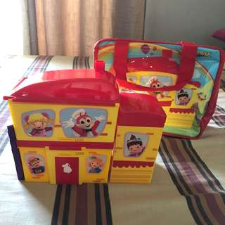 Jollibee lunch box set with bag