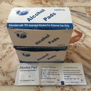 Alcohol Pad Wipes