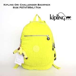 Tas Ransel Kipling Original CHallenger Backpack - Yellow