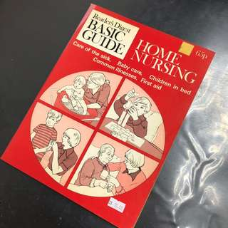 Reader's Diget Basic Guide - Home Nursing