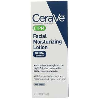 [PREORDER] CeraVe PM Facial Moisturizing Lotion (89ml)