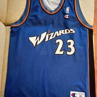 Champion NBA Washington Wizards Jordan Away Jersey 歐染