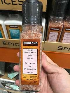 Kirkland 100%純天然喜馬拉雅山有機粉紅鹽369g