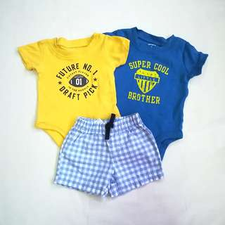 Set of Baby Boy Clothes