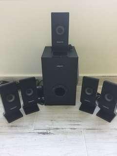Creative 5.1 Sound Blaster Speakers