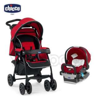 Chicco Duo Today 手推車 紅(不含提籃)