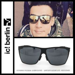 Ic Berlin Dark Energy Sunglasses 太陽眼鏡