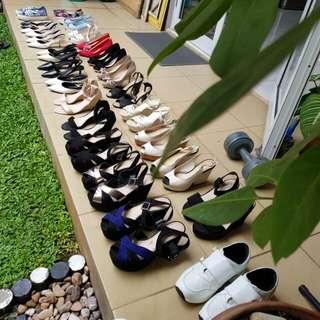 Kosongin Rak Sepatu Ahh 😉👠