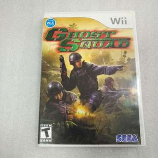 Wii Game Ghost Squad