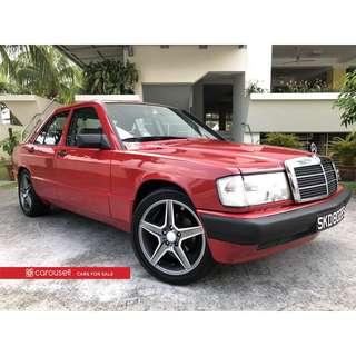 Mercedes-Benz 190E (COE till 03/2019)