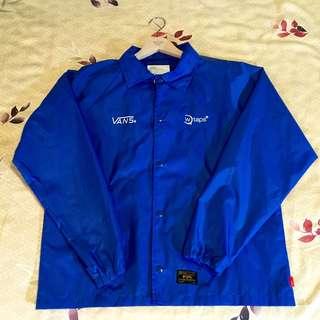 Wtaps coach jacket 教練外套 金標 聯名 vans