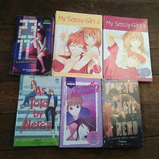 Wattpad Books (BUNDLE)