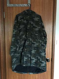 Bought for $200!! Long Camouflage Coat