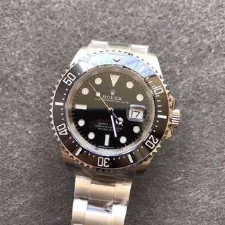 環亞  Rolex SEA-DWELLER 新品 126660 43mm 單紅 noob工廠新版 面交
