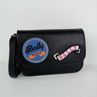 Bally Patches Crossbody Black