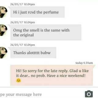 Customer's reviews!