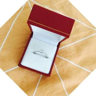 18K DIAMOND RING 0.33CT