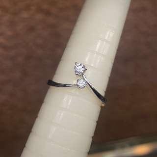 18kt diamond ring 💍 周大福